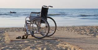 accesso al mare per disabili