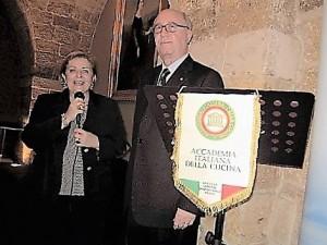 Rosalba Panvini, Soprintendente ai BB.CC di SR ed Angelo Tamburini