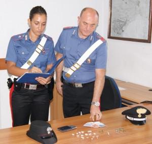 carabinieri droga cassibile