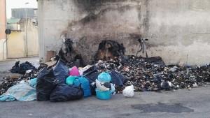 rifiuti dati a fuoco