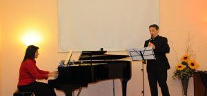 "Floridia, decennale Centro Culturale ""G.Ierna"": concerto del duo ""Pi@noClari.net"""