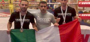Siracusa, kickboxing, Maccarrone e Ferrazzano conquistano oro e argento mondiali