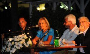 Floridia, presentati i libri degli scrittori Alessandra Appiano e Nanni Delbecchi