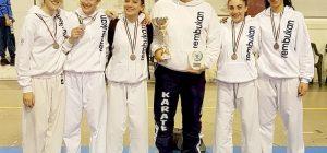 Villasmundo, la Rembukan Karate è vicecampione d'Italia giovanile