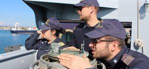 Siracusa, corvetta Driade e pattugliatore Libra della Marina Militare da venerdì a domenica faranno sosta al porto