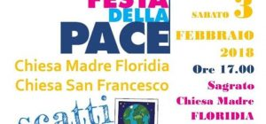 """Floridia, domani pomeriggio l'evento """"Scatti di pace"""" organizzato dall'Azione cattolica della chiesa Madre e della parrocchia di San Francesco"""