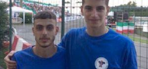 Pattinaggio in linea, i siracusani Palumbo e Maiorca vincono tre titoli italiani juniores
