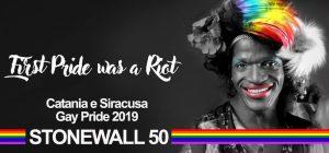 Siracusa, parte l'organizzazione del Gay pride 2019, per il 50° di Stonewall
