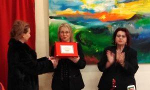 Floridia, la stilista Lucia Caccamo e l'artista Luigi Messina premiati a Parigi