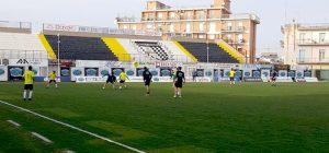 Calcio, Sicula Leonzio in campo con il Floridia per un allenamento congiunto: 7-0 il finale