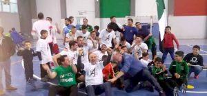 Calcio a 5, l'Assoporto Melilli festeggia la storica promozione in A2