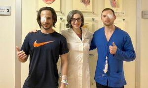 Lentini, effettuati trapianti di cornea all'ospedale: per due trentenni un nuovo orizzonte