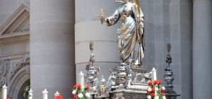 Siracusa, Pontificale di Santa Lucia con il nuovo arcivescovo. Messa serale con l'emerito
