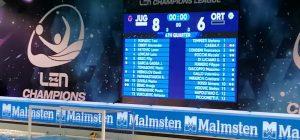 Pallanuoto, Champions League, Ortigia sconfitta ma a testa alta contro i favoriti dello Jug